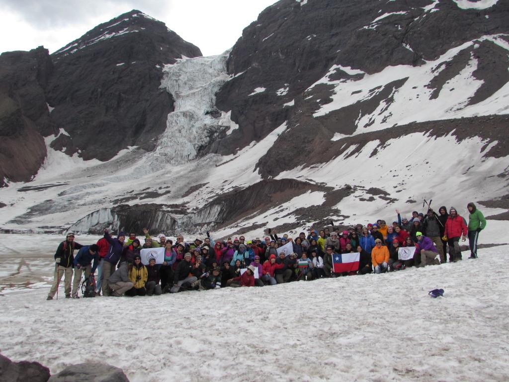 El Montanista - 2014-12-13 Glaciar Colgante El Morado