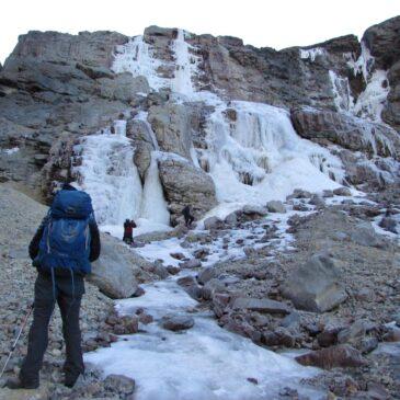 Salida Trekking y Media Montaña – Cascada Congelada de Yerba Loca