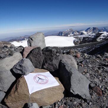 Volcán San José, Un gigante dormido, 5.856 msnm
