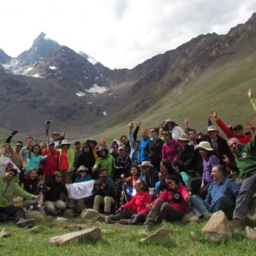 Trekking abierto – Monumento Natural El Morado