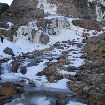 Cascada Congelada Yerba Loca
