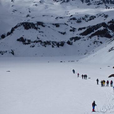 Trekking con Raquetas de Nieve en el Valle de la Engorda