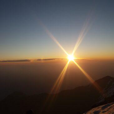 Salida Cerro San Ramón 1 y 2 de Octubre 2016
