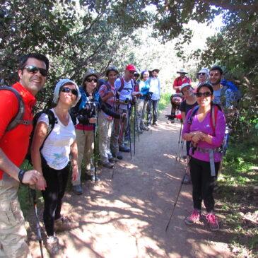 Trekking Agua del Maqui, Quebrada de Macul