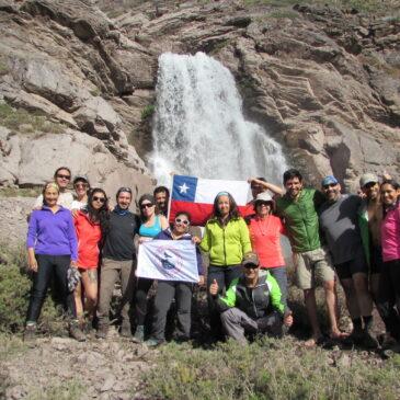 Trekking con Campamento, Cascada Los Castaños, Parque Río Olivares