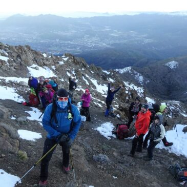 Subida Invernal Cerro Provincia