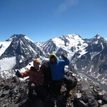 Cumbre cerro El Morado – Cordadas interclubes