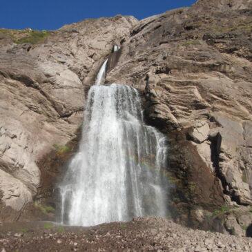 Trekking y Campamento Cascada Los Castaños, Río Olivares.