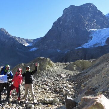 Trekking de Media Montaña a Glaciar La Paloma
