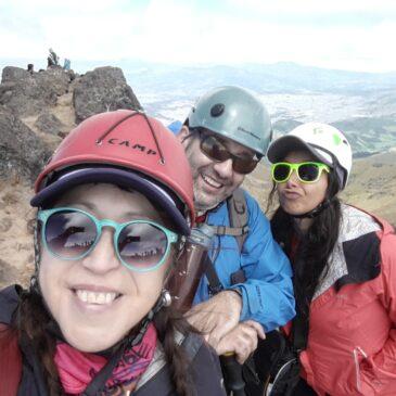 Intercambio CHILE-ECUADOR, Volcán RUCU PICHINCHA