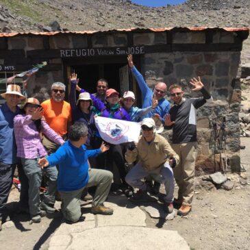 Trekking Refugio Plantat (Volcán San Jose)