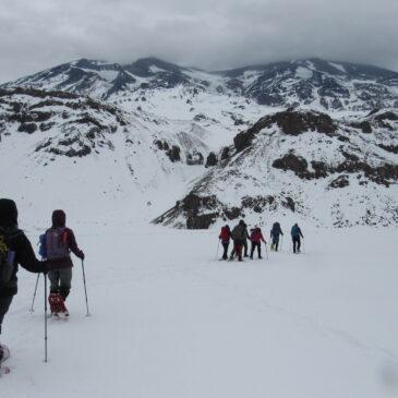 Trekking con Raquetas Valle de la Engorda