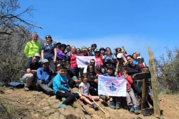 Trekking Sendero El Litre