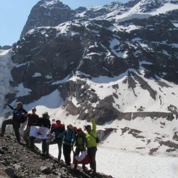 Intercambio CHILE-ECUADOR, Ascensión Cerro Unión