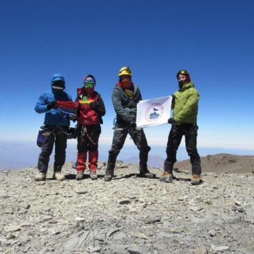 Intercambio CHILE-ECUADOR, Ascensión Cerro El Plomo